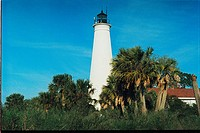 lighthouse located at St. Marks, Florida, United States