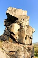 Devil´s Wall Teufelsmauer, Harz District, Harz, Saxony_Anhalt, Germany / Teufelsmauer, Landkreis Harz, Harz, Sachsen_Anhalt, Deutschland