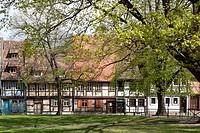 Quedlinburg, Harz District, Harz, Saxony_Anhalt, Germany / Quedlinburg, Landkreis Harz, Harz, Sachsen_Anhalt, Deutschland