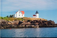 lighthouse located at Curtis Island, Maine, United States