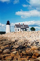 lighthouse located at Prospect Harbor, Maine, United States