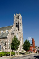 Massachusetts, New Bedford. St. Lawrence church.