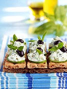 Tzatziki on toast