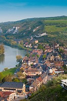 france, normandy, les andelys, chateau, gaillard, river, seine