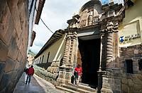 Museum of Arzobispado, Cuzco, Peru.
