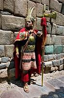 Inca walls  Cuzco  Peru.