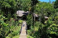 Shalimar Spice Garden hotel, near Periyar, Kerala, India.