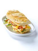 Exotic surimi sandwich