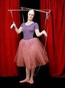Woman as a marionette