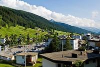 Switzerland, Canton Grisons, Davos, landscape