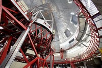 The Gran Telescopio CANARIAS GTC, Roque de los Muchachos Observatory, La Palma, Canary Islands, Spain   The Gran Telescopio CANARIAS GTC is a 10,4 met...