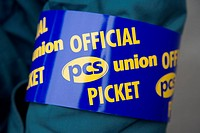 Arm band on official PCS picket