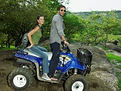 Couple on a Four_Wheeler