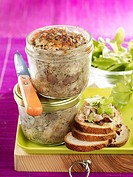 Basil_flavored country terrine