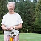 Senior Women Golfing