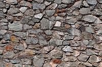 Old Cobblestone Wall