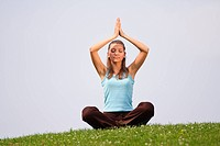 Meditieren im Freien