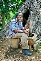 Rastafarian village, Montego Bay, Jamaica, West Indies, Caribbean, Central America.