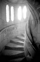 Circular Stone Stairway
