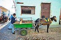 Trinidad city, Sancti Spiritus Province, Cuba.