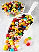 Jelly Beans in Scoop - Non Exclusive