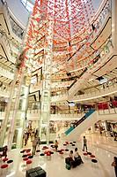 Das Shopping Center Central World Plaza beim Siam Square im Zentrum von Bangkok der Hauptstadt von Thailand in Suedostasien.
