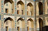 Uzbekistan, Bukhara, Ulughbek madrasah