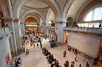 United States, New York City, Manhattan, East Side, Metropolitan Museum of Art