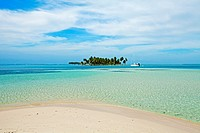 Grullos keys, San Blas Islands also called Kuna Yala Islands, Panama.