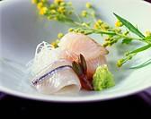 Halfbeak and Flounder Sashimi