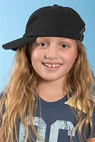 Cutie in a Cap from Funky Kids Series by Josh Gosfield