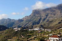 Tejeda village, Gran Canaria, Canary Islands, Spain, Europe