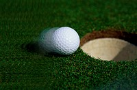 Golf Ball on Edge