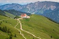 Die Rotwand im Mangfallgebirge bayrische Alpen
