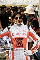 Colour, F1, Indian Grand Prix, New Delhi, India