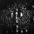 Human Skulls in a Catacomb