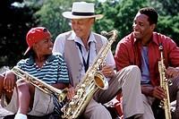 Three Generations of Jazz Musicians