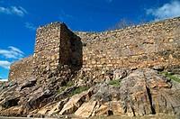 Castle-13th century, Cumbres de San Bartolome, Huelva-province, Spain,