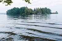 Rose Island, Lake Starnberg, Feldafing, Bavaria, Germany