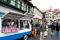 Street scene, Antananarivo, Madagascar