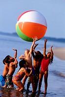Big beach ball excitement