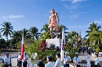Battle of Mactan reenactment ceremony or Kadaugan Festival  Lapu-Lapu or Kali Pulako, Cali Pulaco 1491-1542 was the ruler of Mactan, an island in the ...