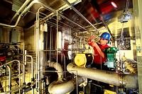 Manufacturing hydraulic test equipment
