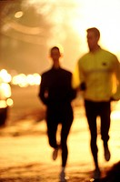Urban joggers