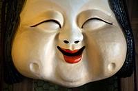 Japanese fat lady mask