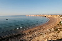Portugal, Algarve, Sagres, View of beach