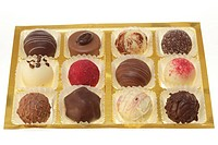 box with pralines