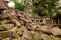 Preah KhanPrah Khan, Sacred Sword, is a temple at Angkor, Cambodia, built in the 12th century for King Jayavarman VII, It is located northeast of Angk...