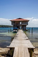 Waterfront home on Isla Carenero, Bocas del Toro Archipelago, Panama