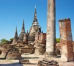 Thailand - Ayutthaya, Royal Palace ruins